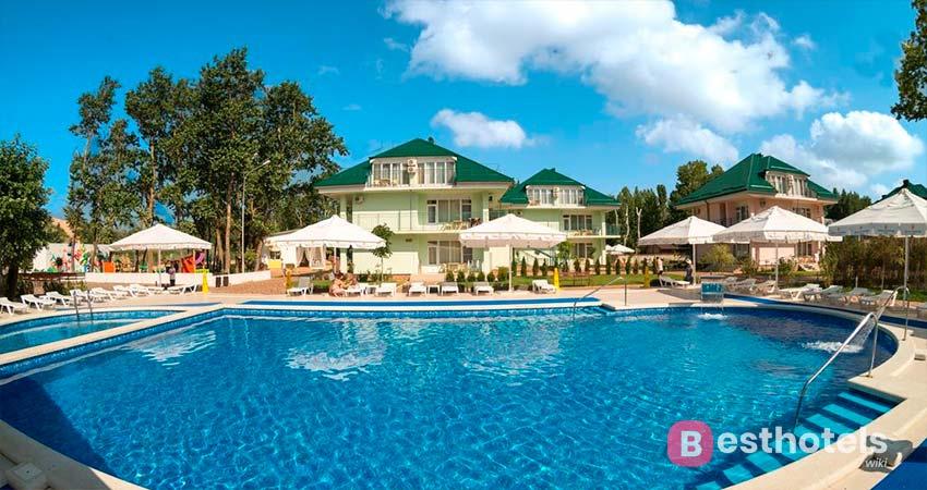 Дюны Золотые - гостиница Анапы для семейного отдыха