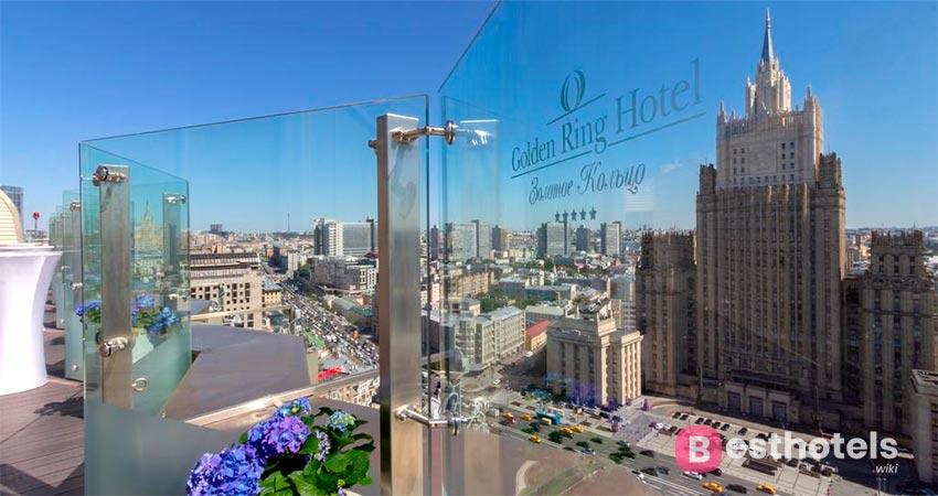 безупречный гостиничный комплекс в Москве - Золотое кольцо
