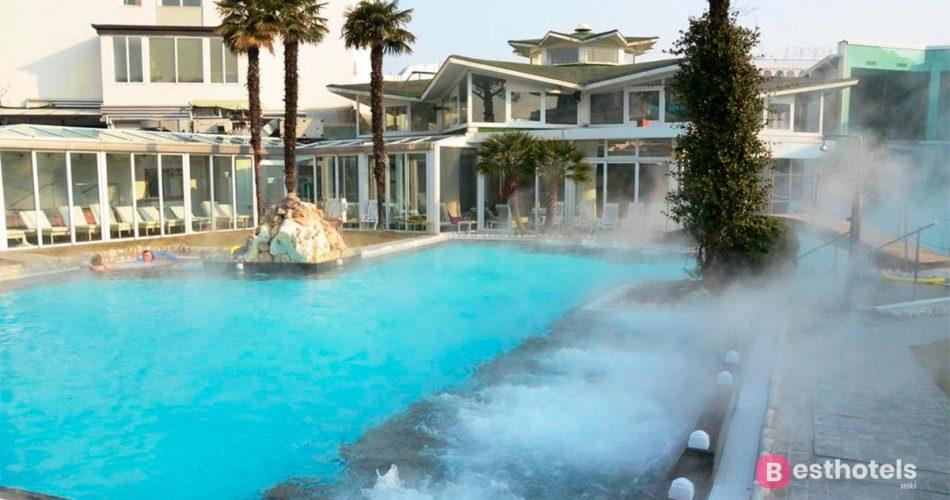 Отели Абано-Терме с термальными бассейнами