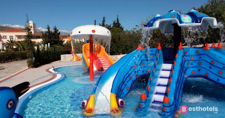 Отели Крита для отдыха с детьми