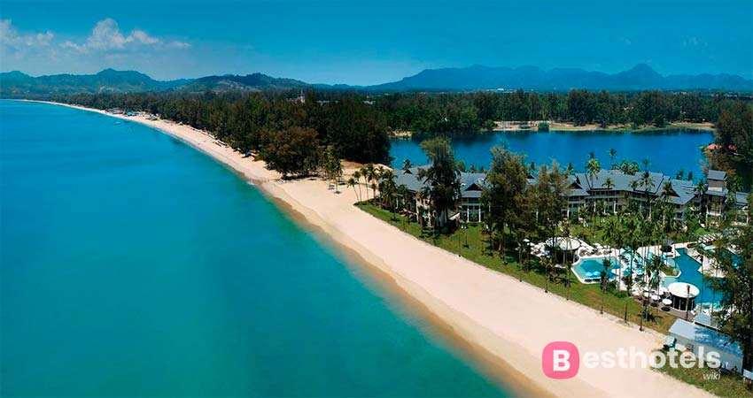 Гостиница Outrigger Laguna Phuket на пляже Bangtao