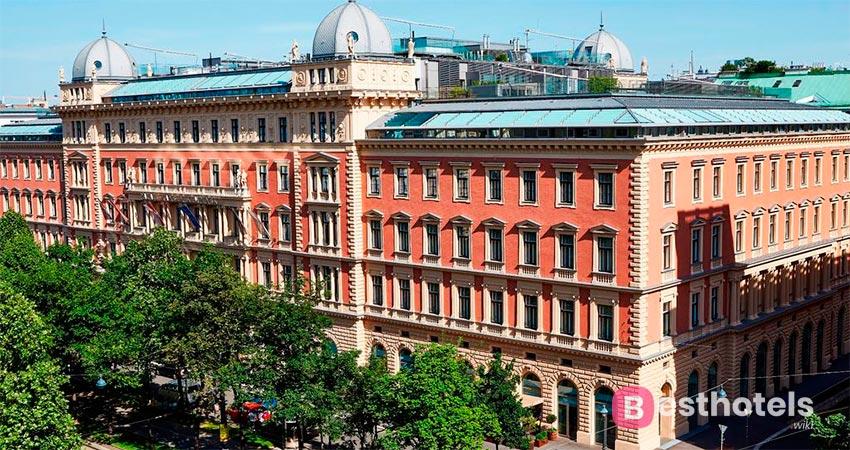 Palais Hansen Kempinski - один из самых лучших отелей в Вене