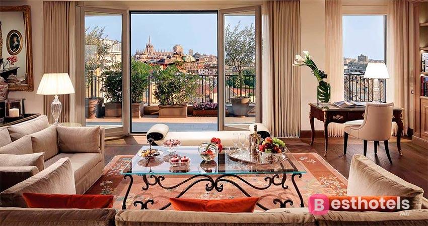 impeccable hotel in Milan - Palazzo Parigi