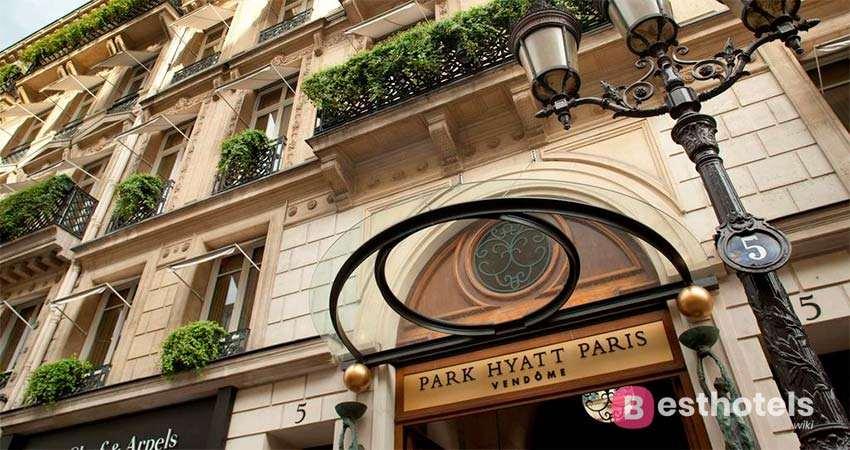 The most luxurious places in Paris - Park Hyatt Paris Vendome