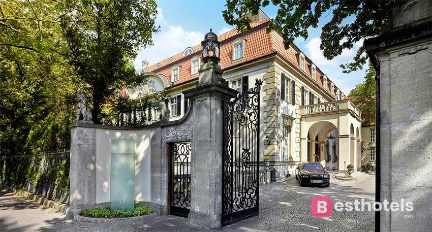 Шикарный дворцовый отель в Берлине - Patrick Hellmann