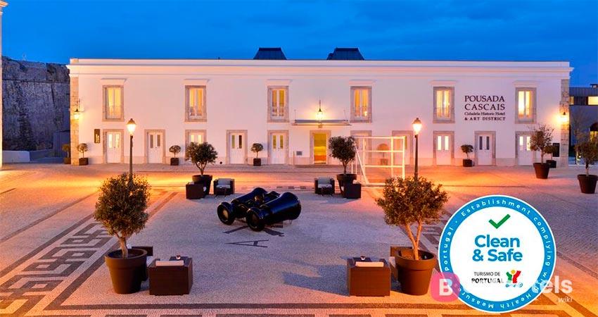 Lisbon showcase hotel - Pestana Cidadela Pousada