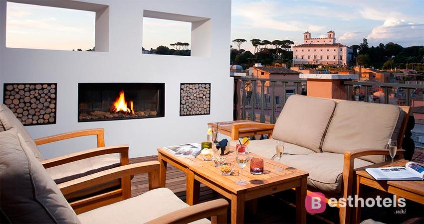 уникальный гостиничный комплекс  в Риме - Portrait