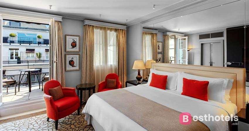 Самые лучшие гостиницы Парижа- Prince de Galles