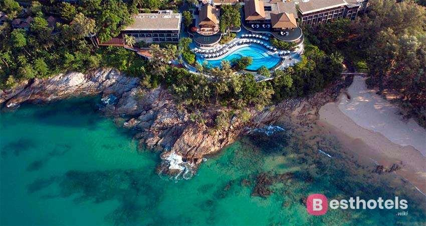 Гостиница Pullman Phuket Arcadia на пляже Naithon