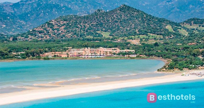 hotel with private beach in Sardinia - Pullman Timi Ama Sardegna