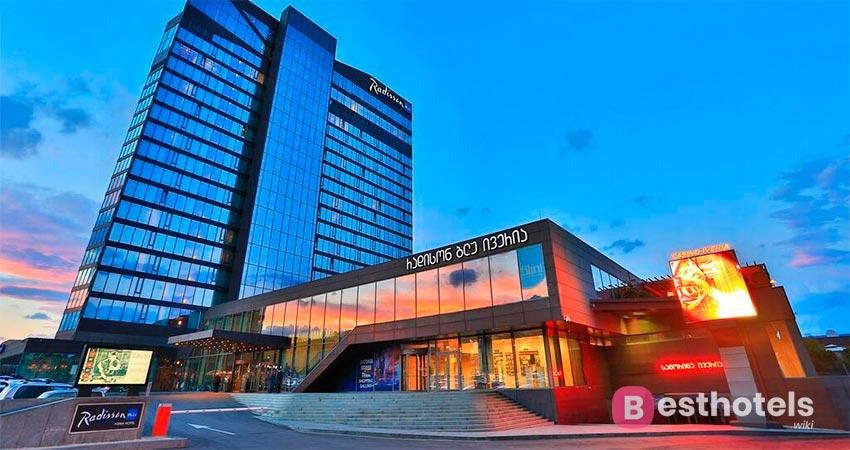 современный гостиничный комплекс в Тбилиси - Radisson Blu Iveria