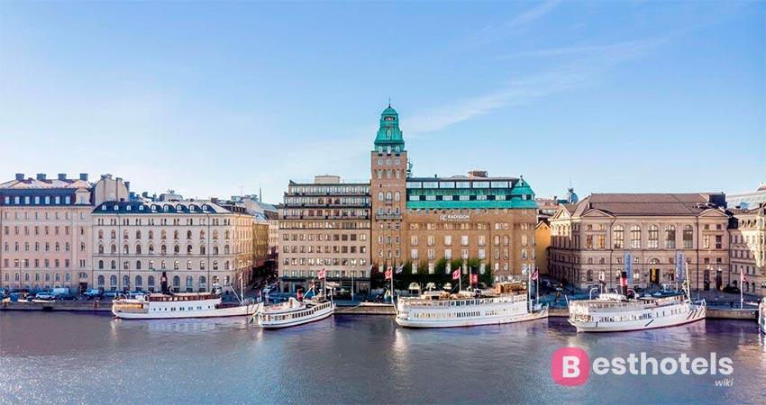 люксовое место в Стокгольме - Radisson