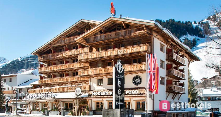 the incomparable hotel complex St. Anton - Raffl's Tyrol