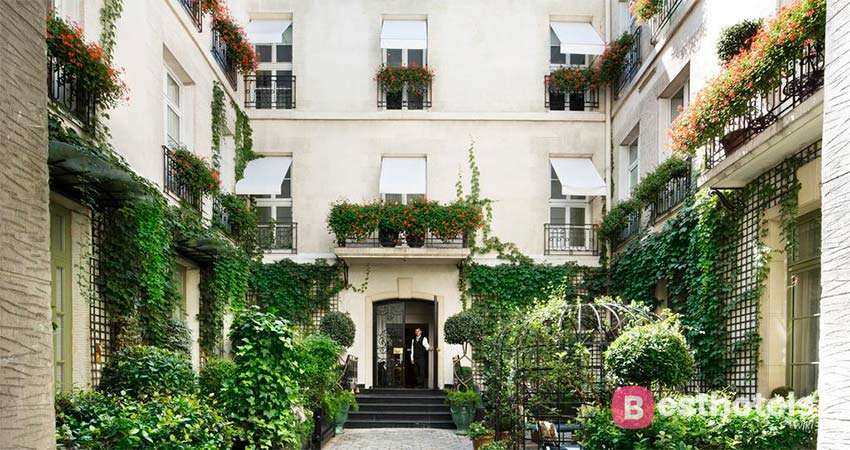 Лучшие бутик отели в Париже - Relais Christine