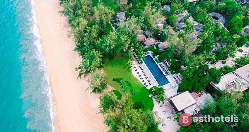 Курорт Renaissance Phuket на пляже Mai Khao