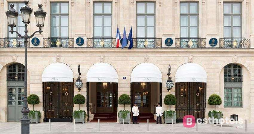 Ritz Paris- один из бутик отели в Париже