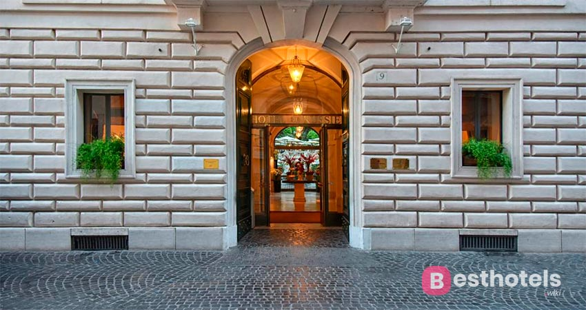 Элитный гостиничный комплекс в Риме - Rocco Forte Hotel De Russie