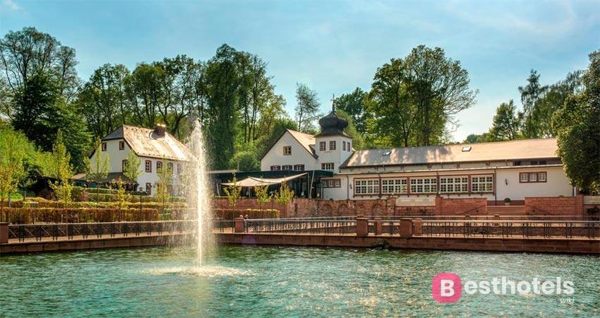 отель в королевском особняке в Германии - Landschloss Fasanerie