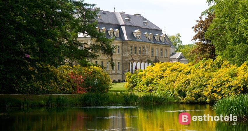 Роскошный отель замок в Германии - Schloss Gaussig