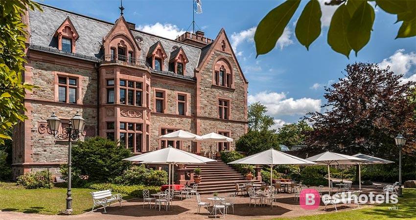 Элегантный замок отель в Германии - Romantik Schloss Rettershof