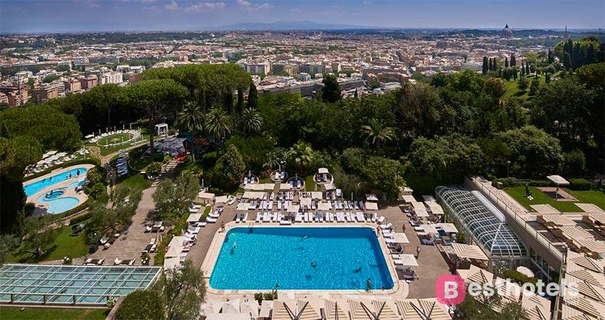 Оптимальный вариант гостиницы  в Риме - Cavalieri