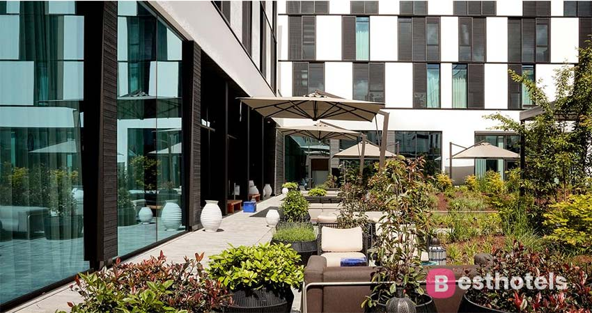 Aesthetic complex with thermal pool Baden-Baden - Roomers