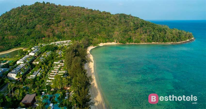 Отель Rosewood Phuket на пляже Patong