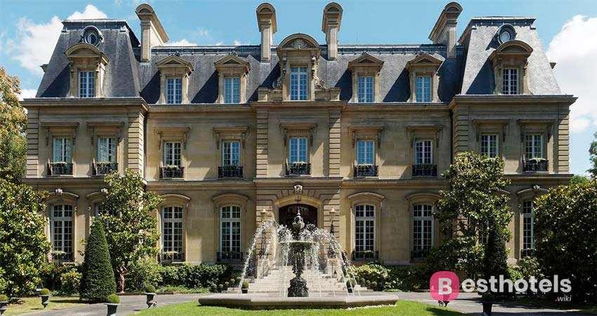 Самые лучшие отели Парижа - Saint James
