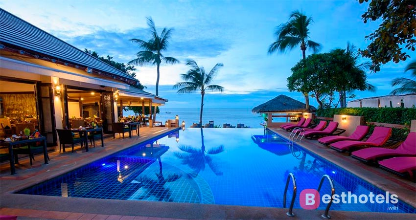 гостиничный комплекс с собственным пляжем на Самуи -  Jasmin