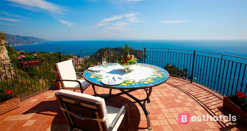 люксовый курорт Сицилии со своим пляжем - San Pietro