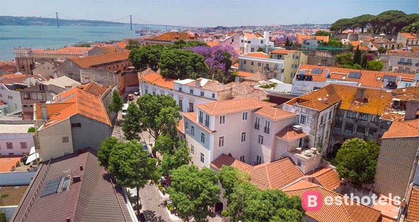 luxury boutique hotel in Lisbon - Santiago de Alfama
