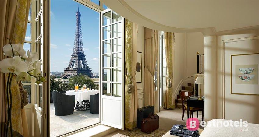 элитный отель в Париже - Shangri-La