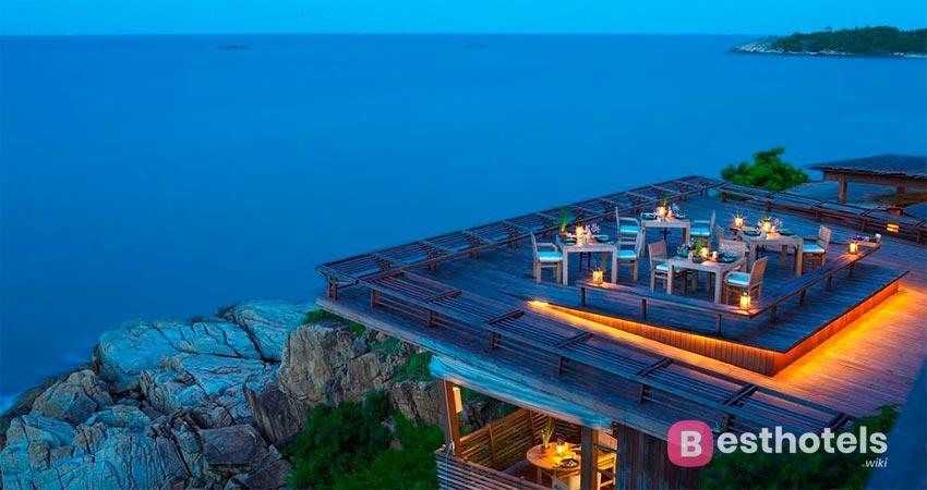 курорт Six Senses с собственным пляжем на Самуи
