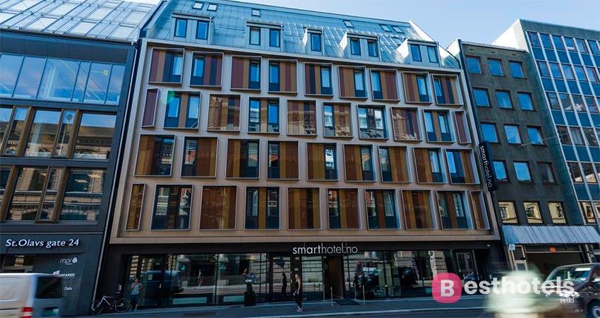 идеально расположенная гостиница в Осло - Smarthotel