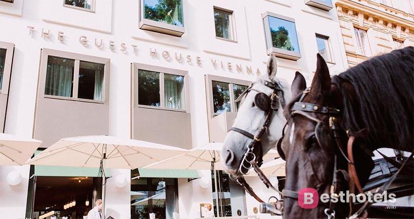 идеальное гостиничное заведение в Вене - The Guesthouse