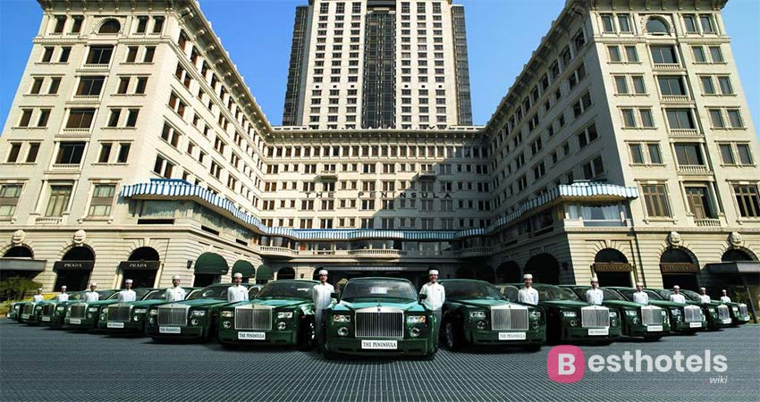 the perfect hotel complex in Hong Kong - The Peninsula