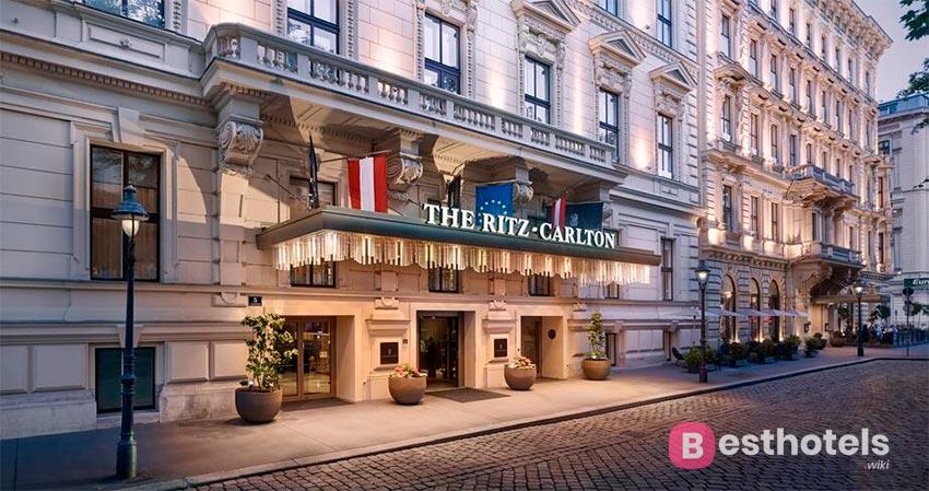 The Ritz-Carlton - бесподобный гостиничный комплекс в Вене
