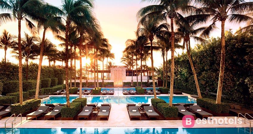 уникальный гостиничный комплекс  в Майами - The Setai