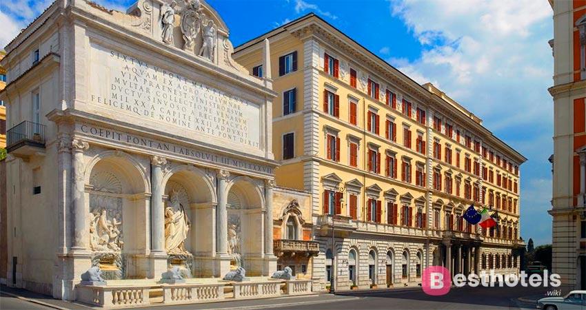 Превосходнейший комплекс в Риме - The St. Regis