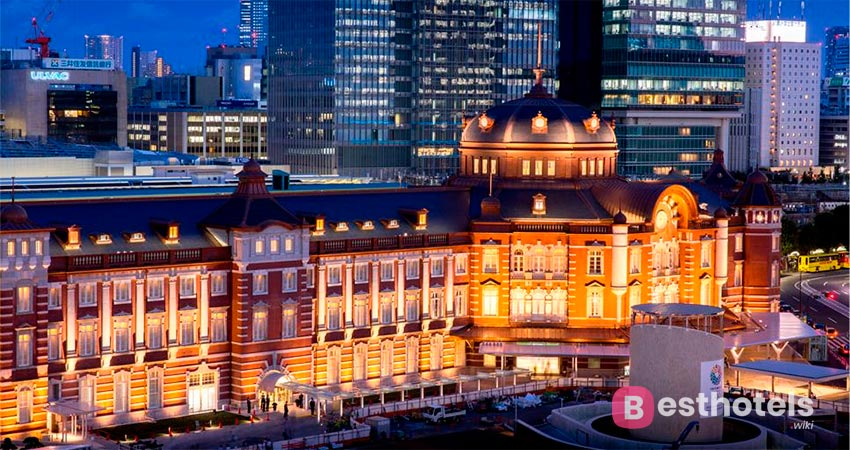 ideal hotel complex - The Tokyo Station Hotel