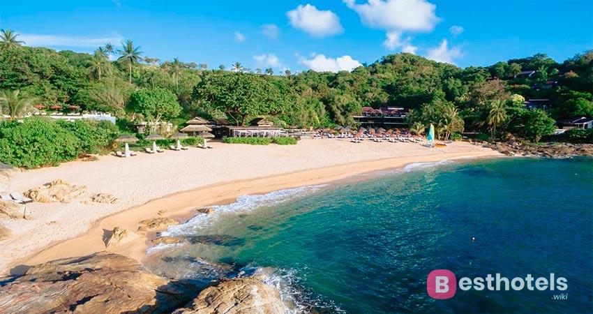 гостиница на берегу моря на Самуи - The Tongsai Bay