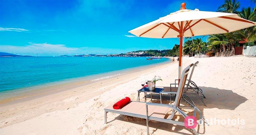 курортный комплекс на берегу моря на Самуи - Villa la Baron
