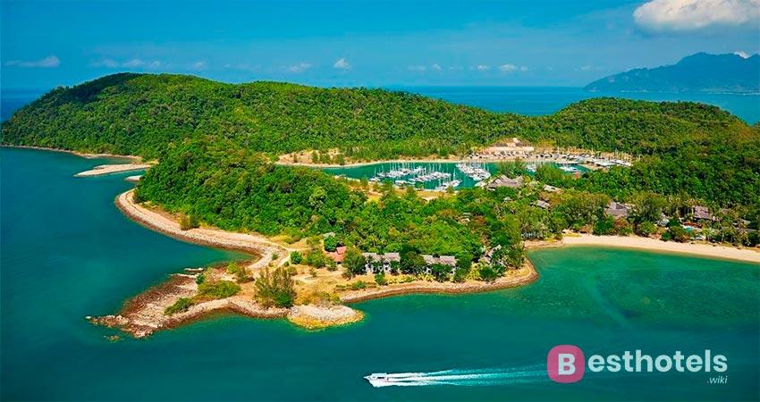 образцовый отель на Лангкави - Vivanta Rebak Island