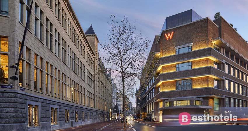 Блестящий гостиничный комплекс - W Amsterdam