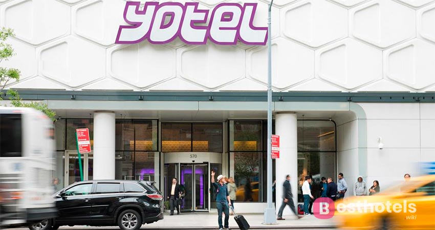 YOTEL is an unbeatable capsule hotel in New York's Time Square