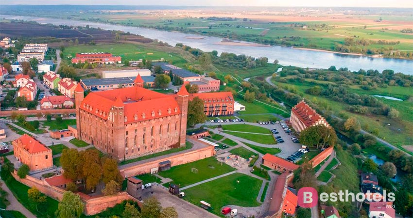 castle hotel complex in Poland - Gniew
