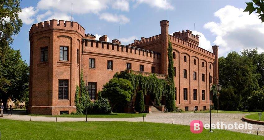 Hotel in a castle building in Poland - Jan III Sobieski