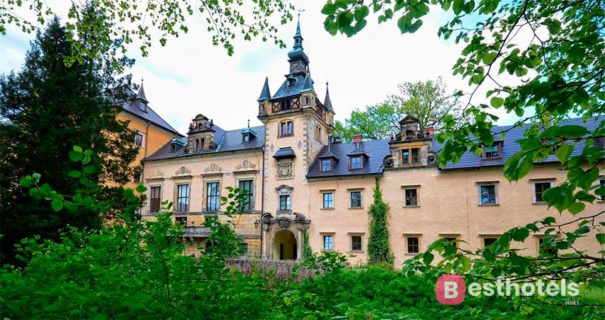 hotel castle in Poland - Kliczków