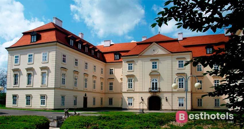 Гостиницы замки в Чехии - Napajedla