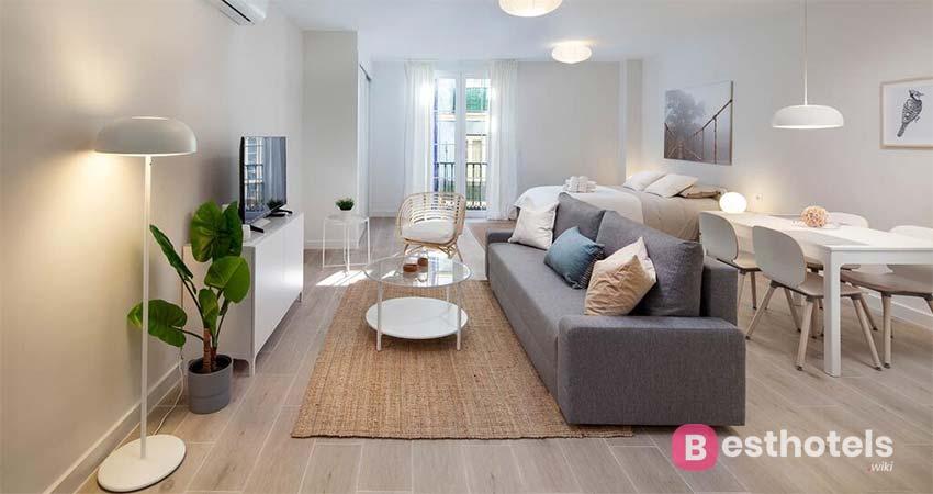 Красочный комплекс для отдыха в Малаге - Apartamentos Málaga Flat